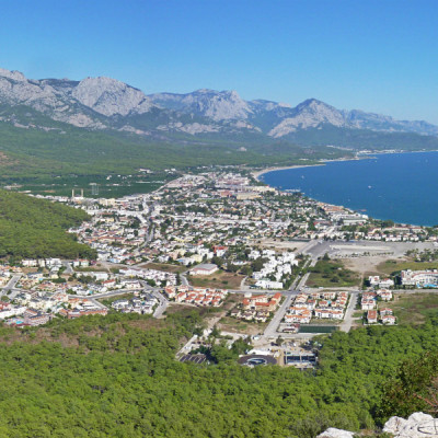 Blick auf lykien Wanderweg - Türkei